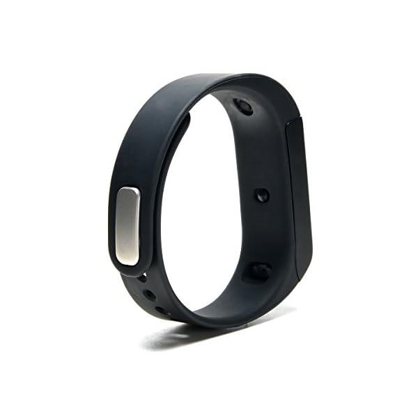 AGPTEK V07 Fitness Tracker Presión Arterial Ritmo Cardíaco Actividad Monitor Bluetooth 4.0 Pantalla OLED Pulsera… 2