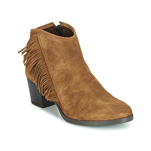 Cherokee Schuhe Für Frauen (andré Cherokees Stiefelletten/Boots Damen Camel - 41 - Boots)