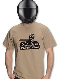 Planète motard - T shirt moto Plein Gaz - T shirt moto - T shirt motard - T shirt homme