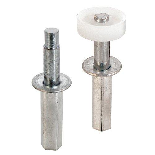 prime-line Produkte N 7263Doppelfalttür Top Pivot und Guide Rad, (2Stück) -