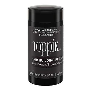 TOPPIK Hair Fibers, Dark Brown, 3 g