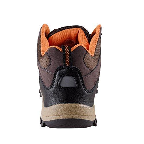 TREKK STAR Damen Outdoor Stiefel mit Protector gegen Flecken braun/multi dunkelbraun/multi