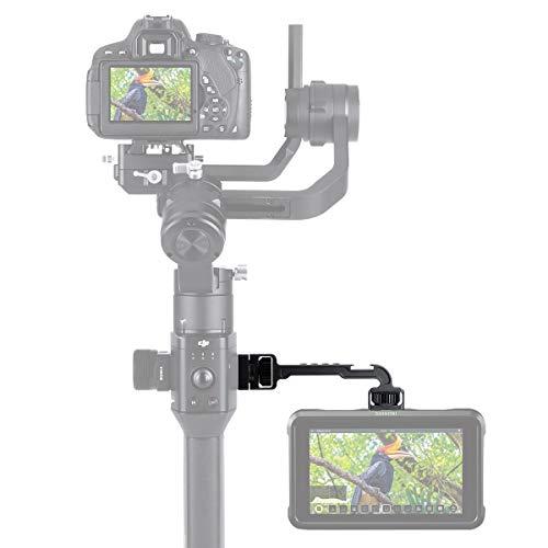 """Wildhooy DH11 Verlängerungsplatte für DJI Ronin S 1/4\""""Monitorhalterung Adapter Video Cold Shoe Adapter Unterstützung Licht Arm Bracket Gimbal Zubehör für Mikrofon LED Video Licht"""