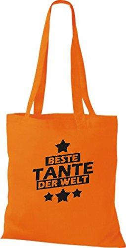 Shirtstown , Cabas pour femme orange