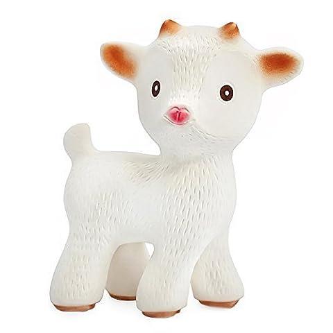 Sola la Chèvre - un jouet de dentition en caoutchouc 100% naturel - sans BPA, sans PVC, sans Nitrosamines