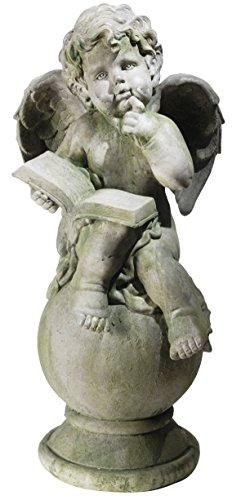 Monde Decor lecture Angel statue intérieur/extérieur