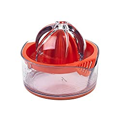 Orange: Salter BW05612 Adjustable Citrus Juicer with Pulp Control, Orange
