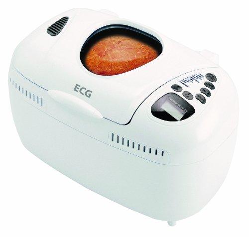 ECG PCB 538 Brotbackautomat, 800 W, 10 Programme, Bis 1.300 g Brotgewicht, Weiß