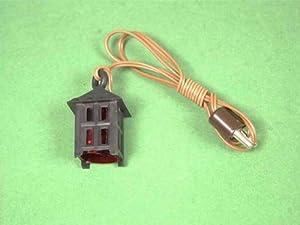 Kahlert 20.632 luz - Muñeca Mini Accesorios - Linterna de plástico, Altura 20 mm