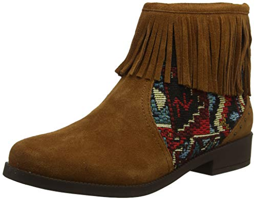 Desigual Shoes Ottawa Tapestry, Botines Femme, Marron...