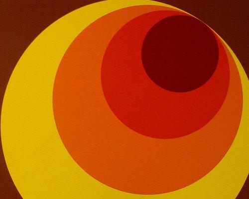 A.S. Création Vliestapete Retro Vision Tapete im Retro Design Retrotapete 70er Jahre Style 10,05 m x 0,53 m braun gelb orange Made in Germany 701312 (Jahre Themen 70er)