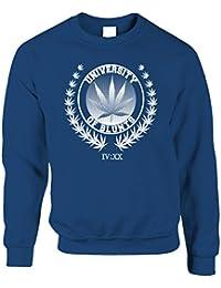 8371fd6e20f09 Université de Blunts Ents Arbres Stoner 420 Imprimé Conception Sweat-Shirt  Unisexe