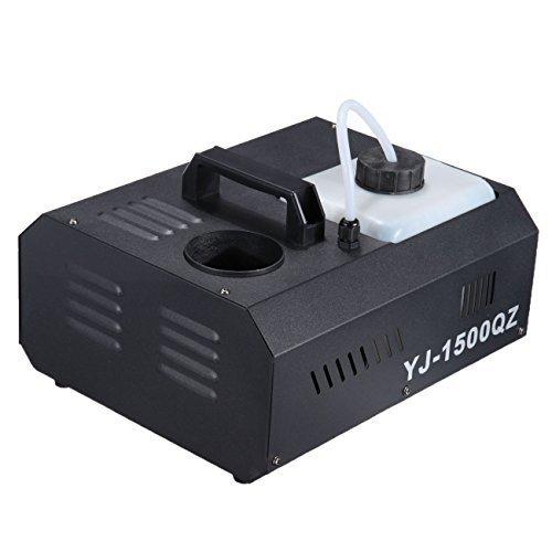 Ridgeyard 2L 1500W niedrigen Somke Nebel Maschinen DMX mit Funk-Fernbedienung für Disco DJ Club Party Effekt Beleuchtung (Machine Maker Nebel)