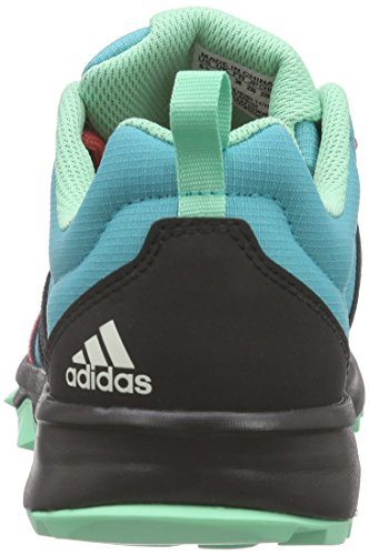 adidas Tracerocker W, Chaussures de Sport Femme, Mehrfarbig Grün (Shock Green S16/Core Black/Super Blush S16)