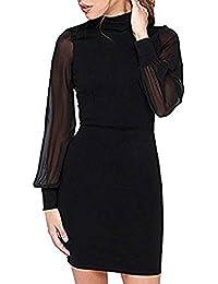 Kleid hochgeschlossen langarm