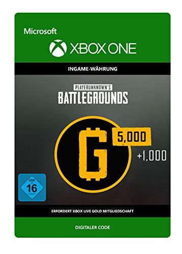 PLAYERUNKNOWN'S BATTLEGROUNDS 6,000 G-Coin  | Xbox One - Download Code