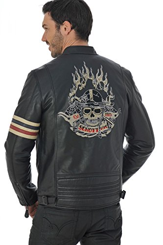 Schott NYC Jacke Lc5413 schwarz Schwarz - Schwarz