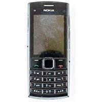 SANTHOSH ENTERPRISES Full Body Housing Panel for Nokia X2 02 (Front and Back) Black