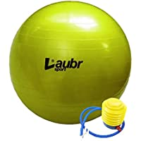 Yoga Ball, Gym Ball, Fitness Ball 75 cm with Air Pump Laubr Sport