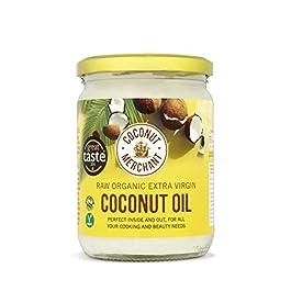500mL Coconut Merchant Olio di Cocco Organico | Olio Extra Vergine, Crudo, Spremuto a Freddo, Non Raffinato | Fonti…