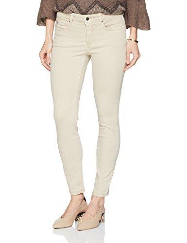 MAC JEANS Damen Skinny Jeans Dream (Smoothly Beige 214W), 42 (Herstellergröße: 42/32)