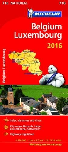 Michelin Maps: Michelin Map 716 Belgium Luxembourg