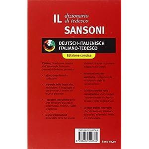 Il Sansoni tedesco essenziale