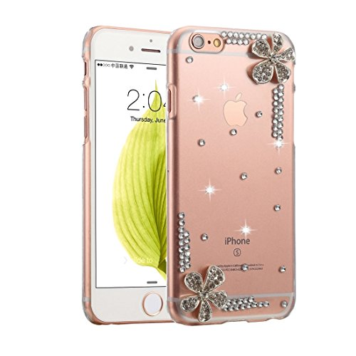 YAN Für IPhone 6 / 6s Diamond verkrustete Juwel Fox Pattern PC Schutzhülle Back Cover ( SKU : IP6G1006J ) IP6G1006F