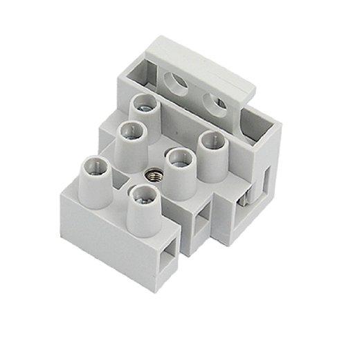 3 polig 10mm Pech 5x20mm Versicherung Terminal Klemmen Block grau 10 Stk (Terminal Block Fuse)