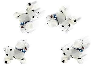 Happy People Hund Dotty, Salto-Plüschhund, läuft, bellt und schlägt einen Salto rückwärts, 18 cm