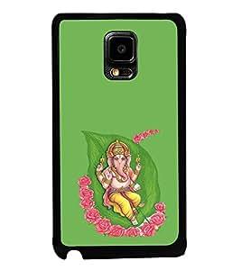 Fuson Designer Back Case Cover for Samsung Galaxy Note Edge :: Samsung Galaxy Note Edge N915Fy N915A N915T N915K/N915L/N915S N915G N915D (Ganesha GAnapathi lord GAnapthi Lord Ganesha Ganesha Idol)