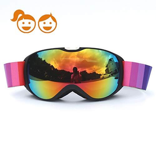 Honcenmax bambini occhiali da sci snowboard occhiali da sci - neve occhiali con anti-fog trattamento di protezione uv400 - per bambini ragazzi ragazze
