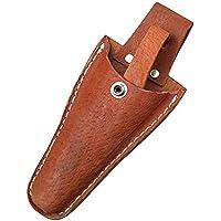 HANSHI Marrón funda de cuero herramienta Holsters cinturón Holster bolsa de soporte para alicates, tijeras de podar, tijeras, paleta, cuchillo de podar, o jardín (hsz-20)