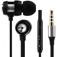 auriculares in ear headphone de alta calidad deportivos Sannysis Auriculares con Cable y Micrófono In ear