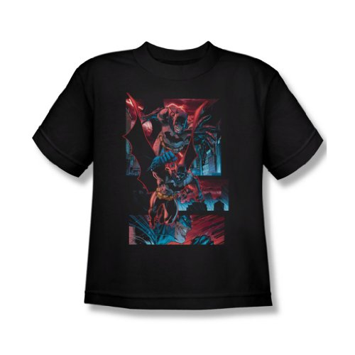 Batman - The Dark Knight Panels Jugend T-Shirt in schwarz Black