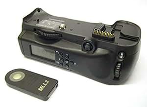 Meike MK-D300SL Grip Batterie avec Ecran LCD pour Nikon D300/D30 Noir
