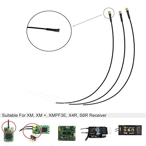 3PCs Frsky Empfänger Antenna 150mm 2.4G IPEX Micro Port For Frsky X4RSB , S6R , XM , XM+ Receiver , XMPF3E Flight Controller by LITEBEE