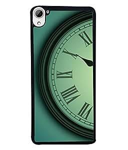 FUSON Designer Back Case Cover for HTC Desire 826 :: HTC Desire 826 Dual Sim (Time Lapse Of Antique Clock Old Wooden Vintage Time)