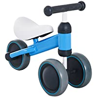 HOMCOM Kids Baby Toddler Tricycle 3 Wheel Ride-on Bike Trike Balance Training