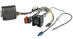 WATERMARK CB-59810 CAN-Bus Interface Adapter Autoradio für AUDI FORD SEAT SKODA OPEL VW ab 2004, Quadlock ISO Stecker