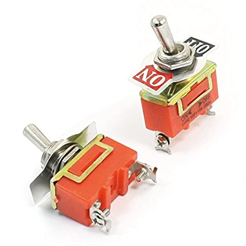 SPST ON/OFF 2 Position Power Toggle Switch AC 250V 15A