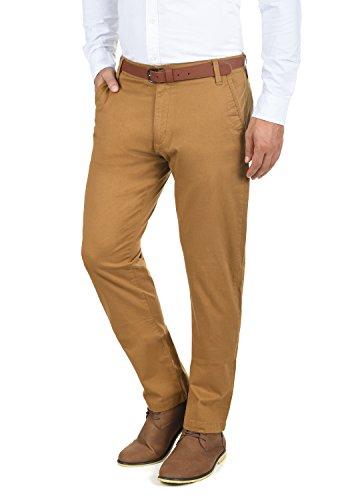 !Solid Machico Herren Chino Hose Stoffhose Mit Gürtel Aus Stretch-Material Regular Fit, Größe:W32/32, Farbe:Cinnamon (5056)