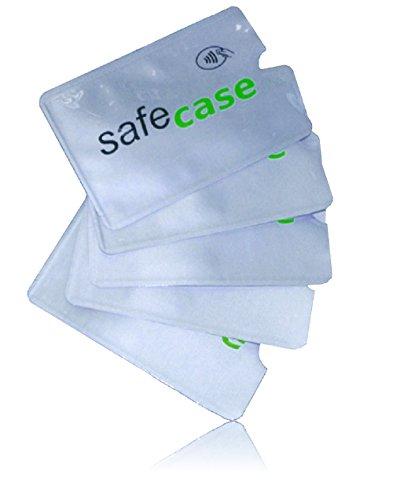 MakakaOnTheRun MakakaOnTheRun RFID Blocker NFC Schutz Kreditkartenhülle für EC-Karte, Bankkarte, Kreditkarte, Personalausweis (SafeCase)