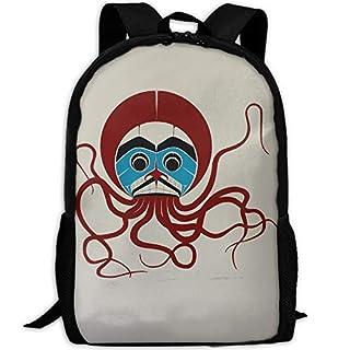 Aztec Ocean Octopus.JPG Adult Travel Backpack School Casual ypack Oxford Outdoor Laptop Bag College Computer Shoulder Bags