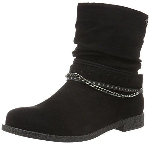 Refresh62185 - Stivali a metà polpaccio non imbottiti Donna , Nero (Nero (Negro)), 38