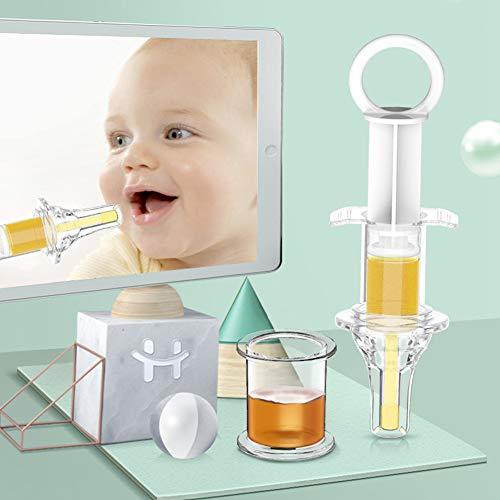 LVTTOU Baby Medizin Feeder, Baby Medizin Gerät Spritze Nippel Typ Wasser Feeder Baby Dropper Fütterung Medizin Artefakt Baby Trinkwasser Anti-Milbe Fütterungsgerät -
