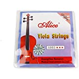 Musiclily Alice Níquel Herida 4cuerdas para viola (Tamaño 4/4set (Juego de 2)
