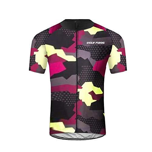 Uglyfrog+ Fahrradtrikot Kurzarm für Herren Cycling Jersey Radtrikot T Shirt Radsport -