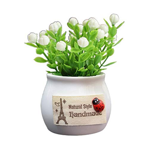 Tree-on-Life Auto Dekoration Simulation Blume Verheißungsvolle Obstpflanze Auto Kreative Topf Parfüm Aromatherapie Schmuck -