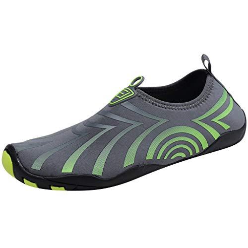 Jodier Calzado de Agua para Hombre Natación Descalzo Buceo Surf Yoga Deportes acuáticos Playa Caminar Yoga Zapatos Running Hombre Mujer Trail Fitness Sneakers Ligero Transpirable